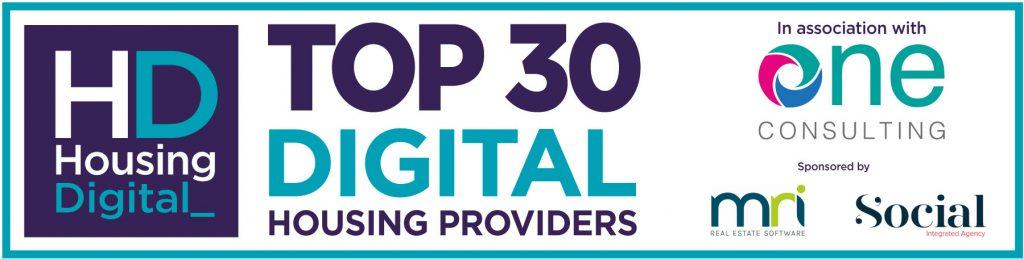 Image result for top 30 digital housing providers uk housing digital