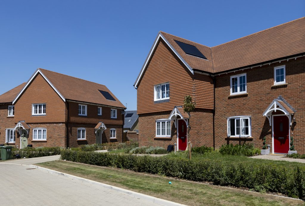 New homes at Golding's Hermitage Park development in Barming