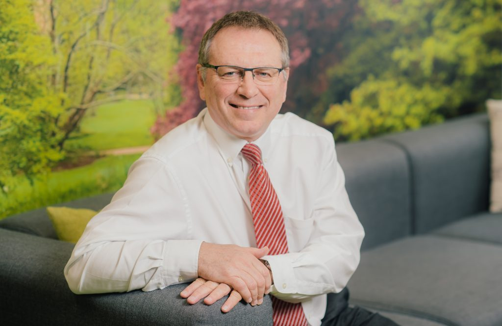 Melvyn Garrett, deputy CEO and executive director of Finance, LiveWest